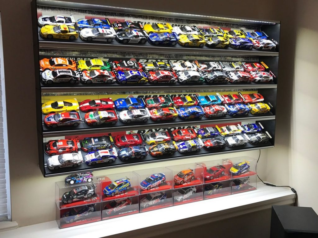 Series 2000 Shelves Shown with 1:43 Diecast Models