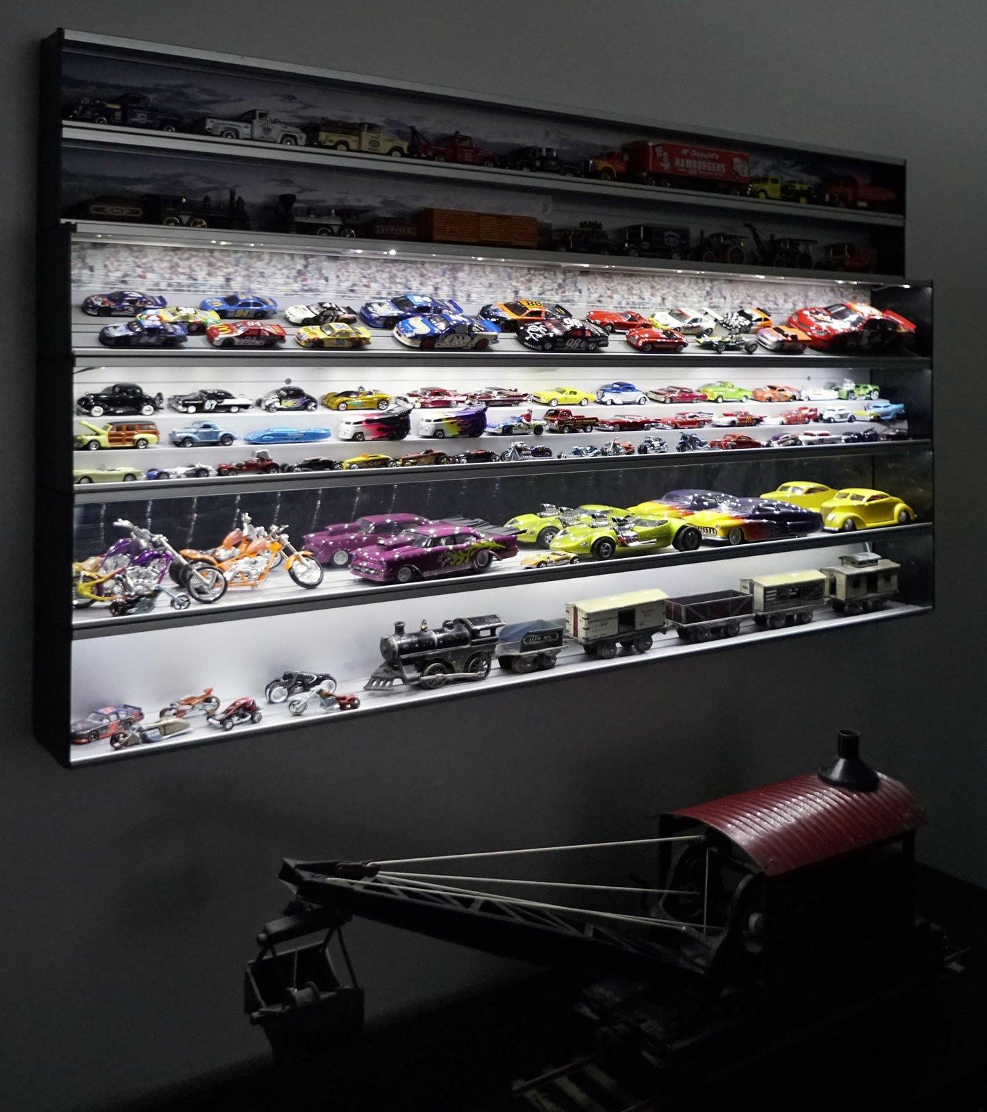 Custom Display Case Lighting Showcase