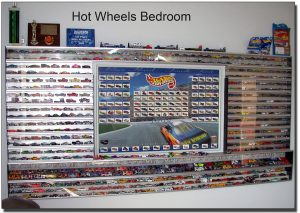Hot Wheels Aluminum display case collection