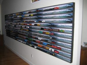Micro-trains display case system