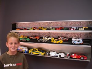 Slot Car display cases