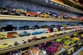 Display Cases for Diecast Cars & Models