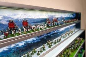 Military Wargamers Display Case